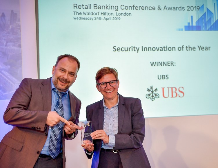 UBS Security Innovation Award UBS Card Center Wins Security Innovation Award with FICO AI