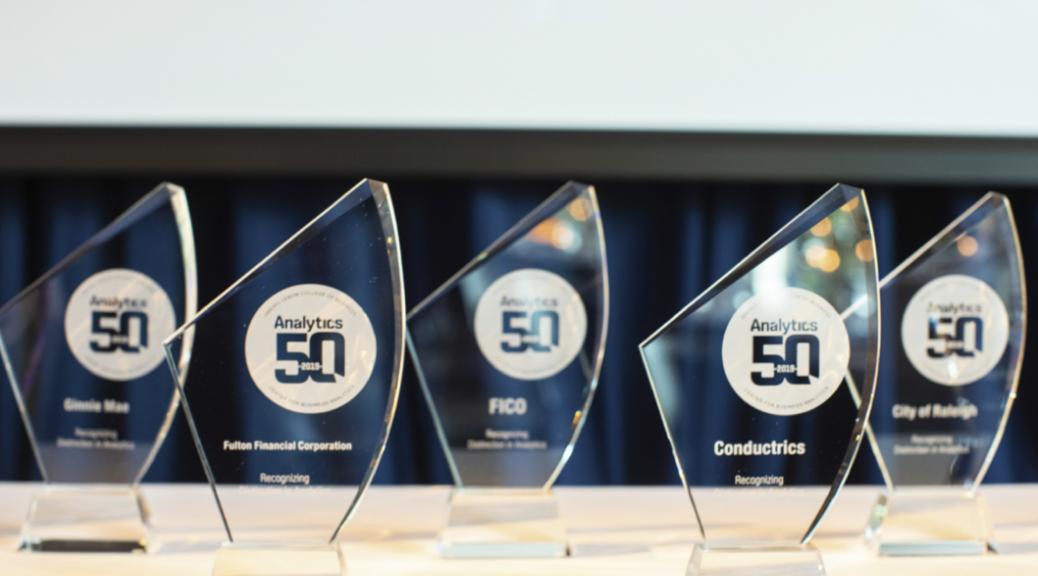 FICO Awarded Analytics 50 Award